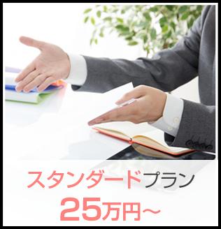 スタンダートプラン 25万円〜